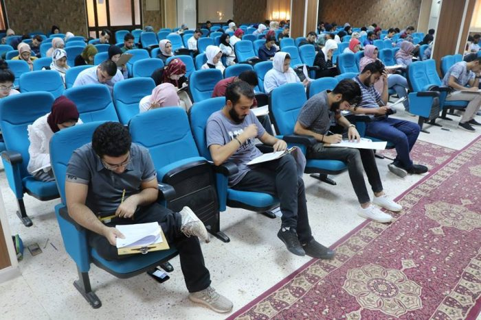 BMS faculty Second and third year students conduct their final exams