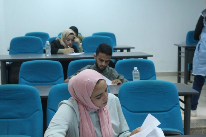 second year pharmacy faculty students conducted their 8th educational unit exam