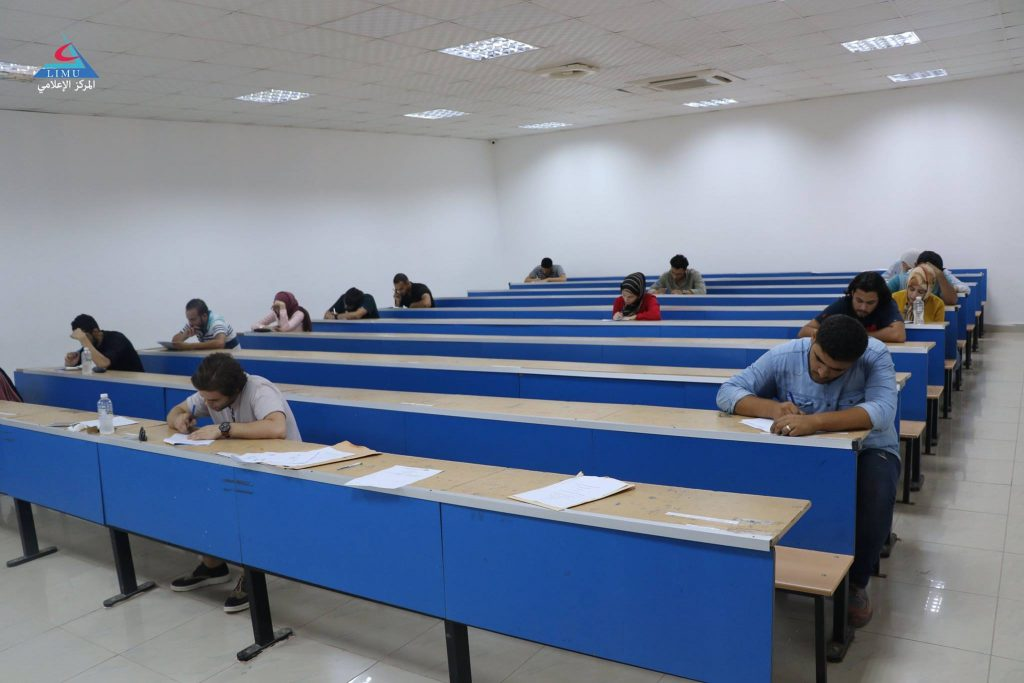 Dentistry faculty students conduct their resit exams