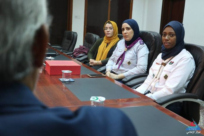 University hosts the first team of university girls Scout Movement