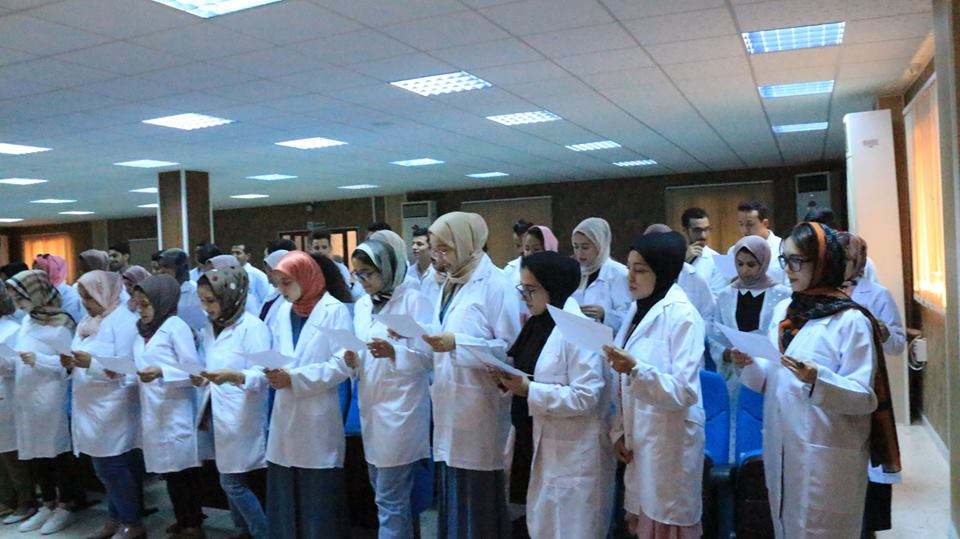 Pharmacy Faculty honors its students during the celebration of the Whitecoat
