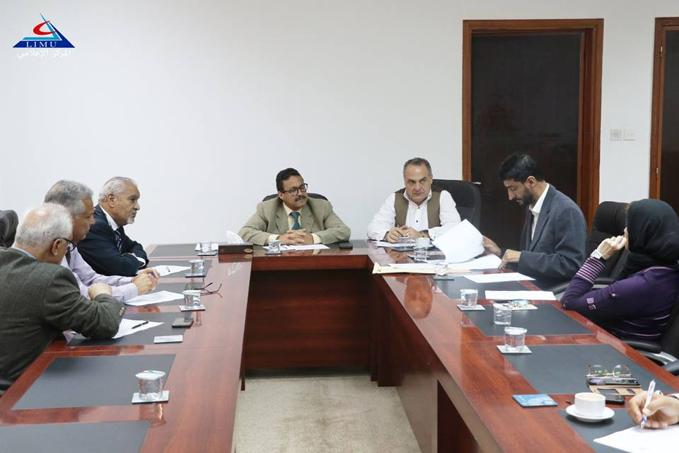 Committee of Faculty Affairs holds its third meeting of 2018