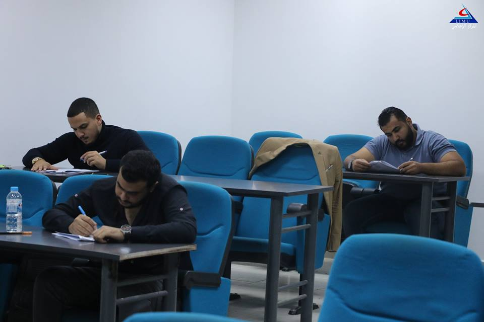 Faculty of  Medicine fifth year students conducted their internal medicine exams