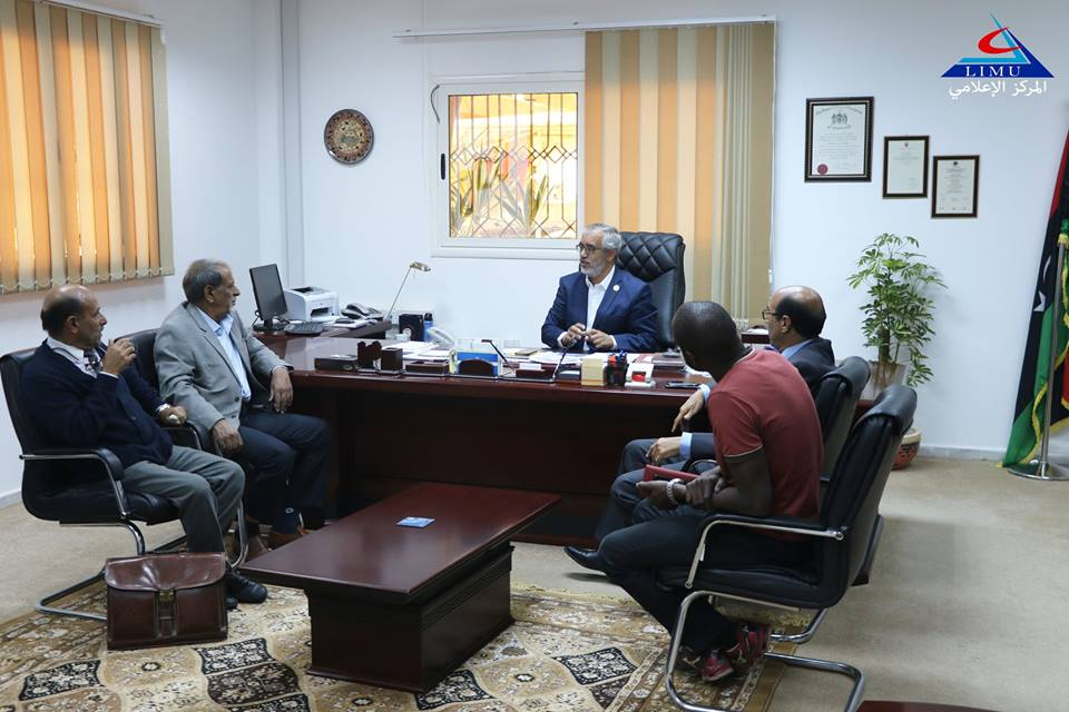 President Of The Libyan International Medical University Hosted The Office Of Special Education