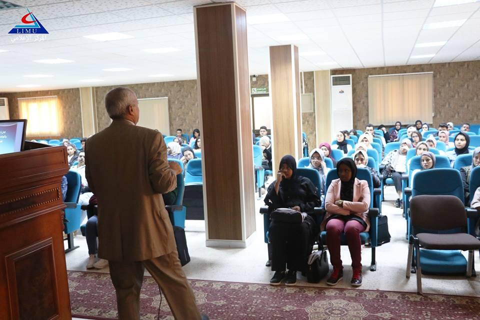 The Registrar of the University continues his meetings with new students