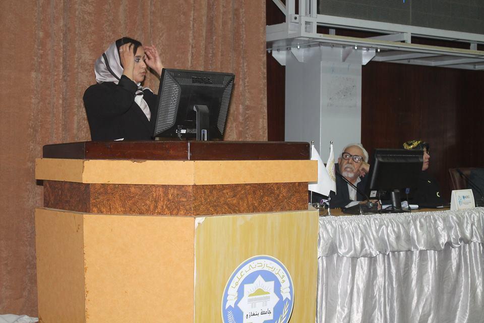 Suheir AlFarajani and Her Remarkable Presentation