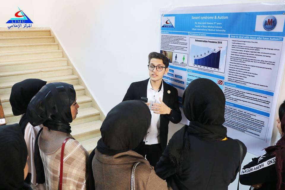Second Year Students At BMS Faculty Discuss Their Scientific Posters