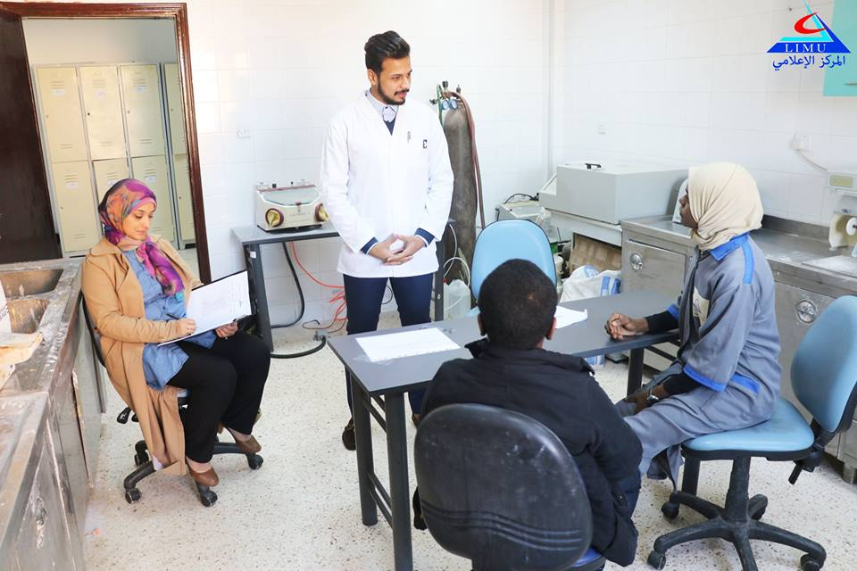 Faculty of Medicine and Oral and Dental Surgery Fifth year students conducted their OSCE Exams