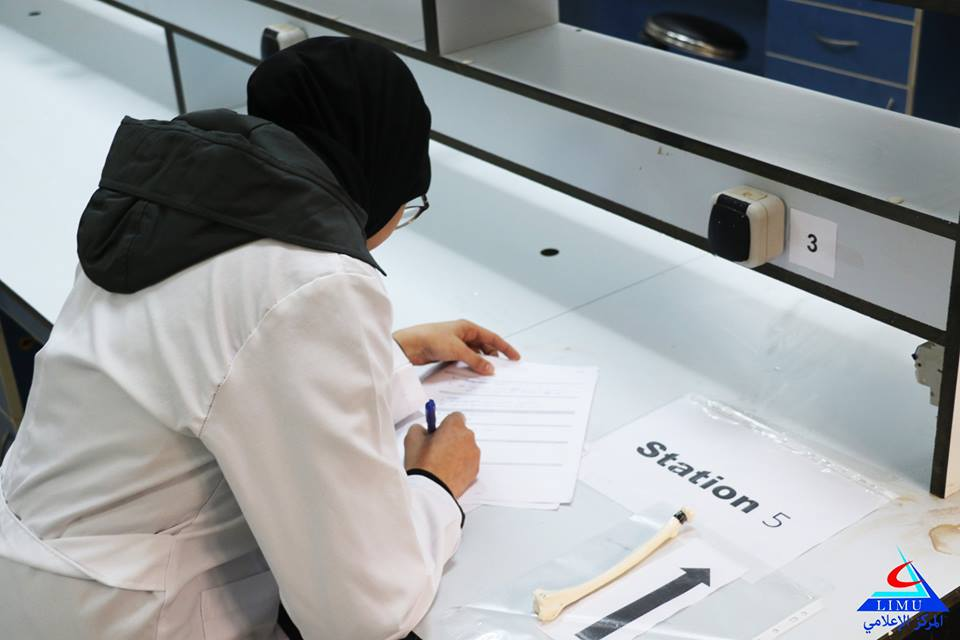 Second Year BMS Students Take Their OSPE Exam