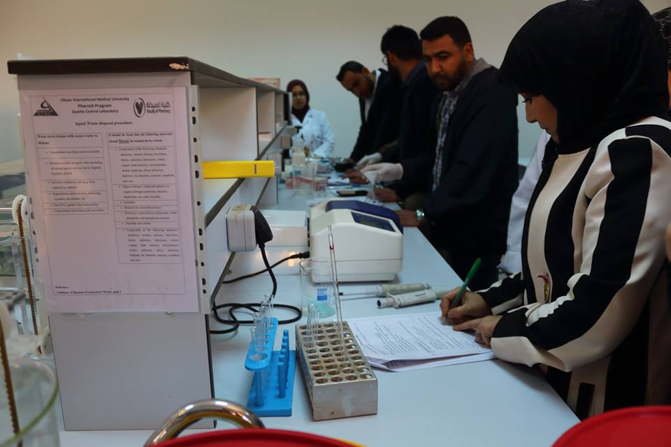 Faculty of Pharmacy Trains Pharmacists working at the Food and Drug Control Center