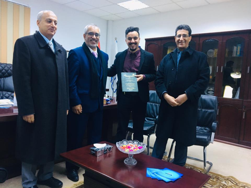 LIMU faculty of medicine proudly congratulates dr Salah Elbarasi for earning his masters degree