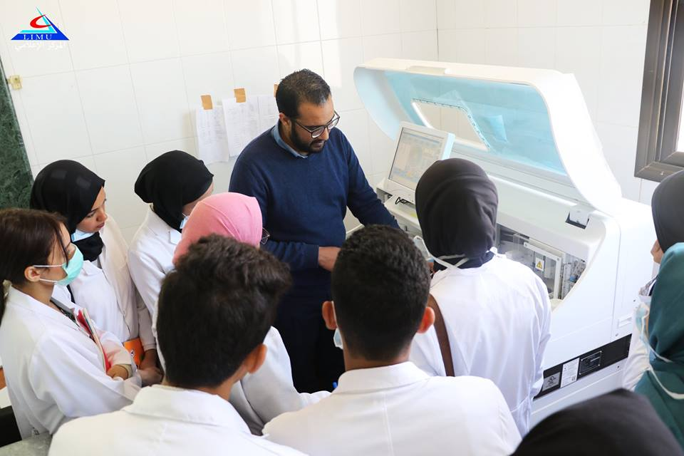 BMS students visit Benghazi Chest hospital