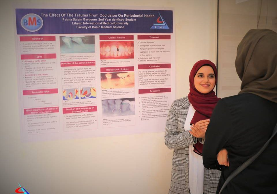 Second Year BMS Students Present Their Posters