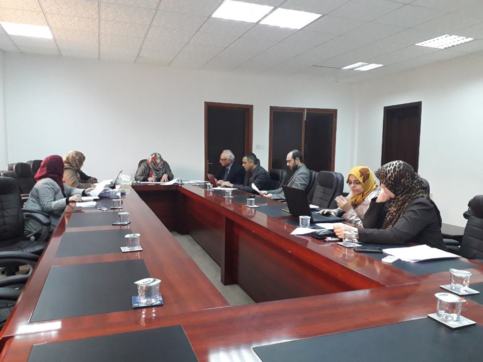 Second Meeting for the International Accreditation Steering Committee at Faculty of Pharmacy