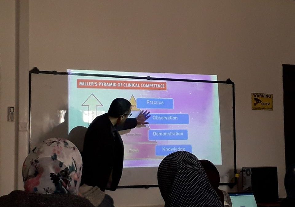 Faculty of Pharmacy Conducted a workshop on Modern Strategies for Clinical Teaching