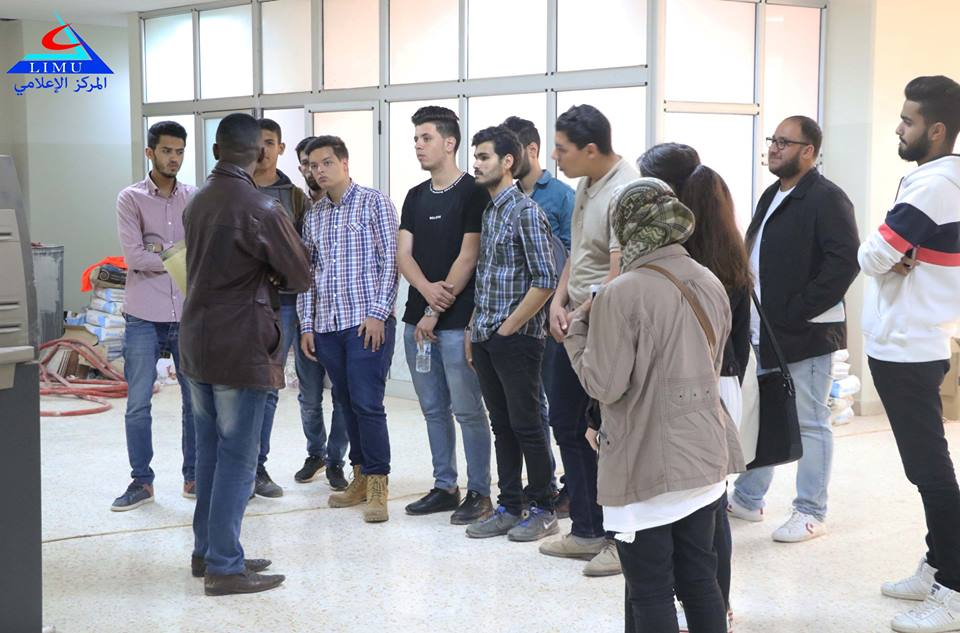 Students of IT Faculty Visit The University of Benghazi