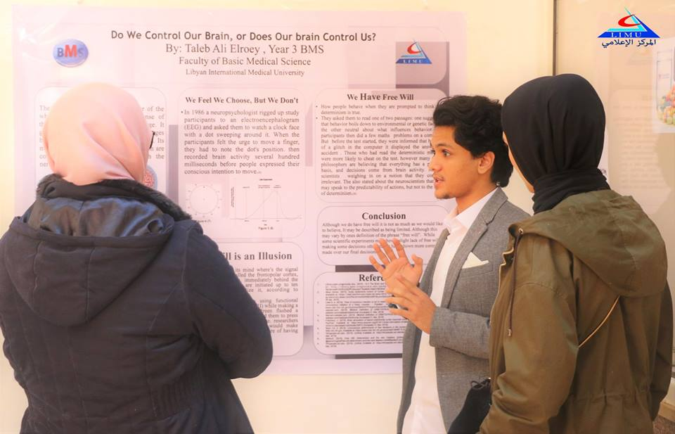Third Year BMS Student Present Their Posters