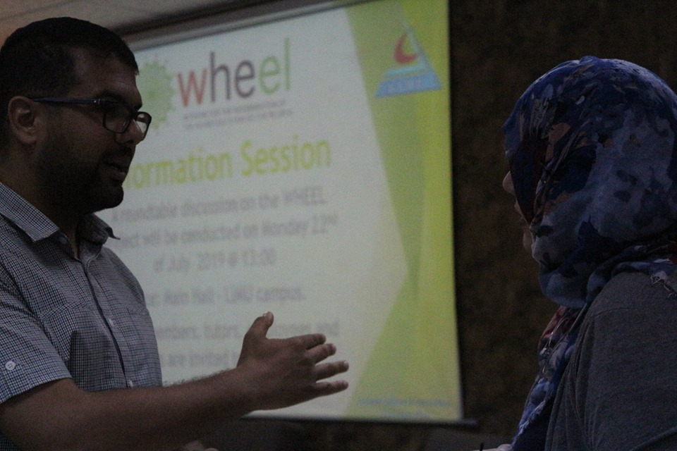 WHEEL Project Information Session Organized by the Department of Academic Relations and International Cooperation