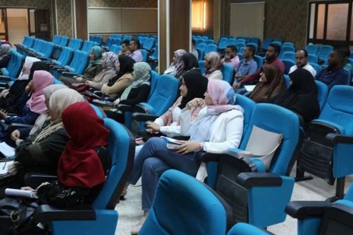 The Faculty of Pharmacy Begins Implementing A Training Program For The Pharmacists Working At Benghazi Medical Center