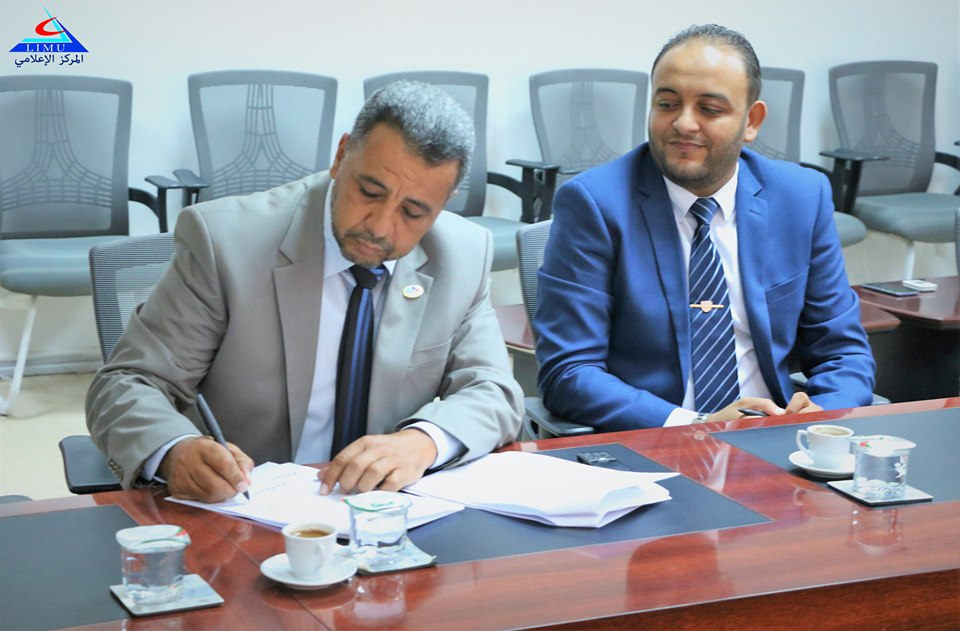 The University Signs A Cooperation Agreement With the Arab Experts Company